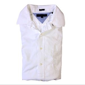 Tommy Hilfiger White Button Down Dress Shirt